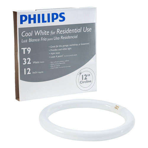 Philips 391227 12 Inch 32 Watt Cool White Circline