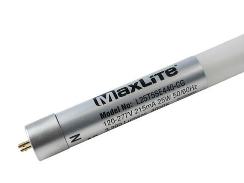 Maxlite L25T5SE440-CG 25 Watt T5 LED Fluorescent Bulb 4000K