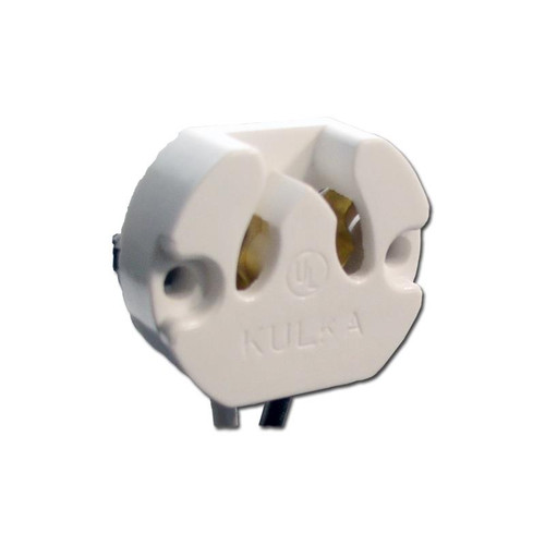 Kulka 590WSC UnshuntedFluorescent Lamp Holder for Medium Base (G13) Bipin Lamps