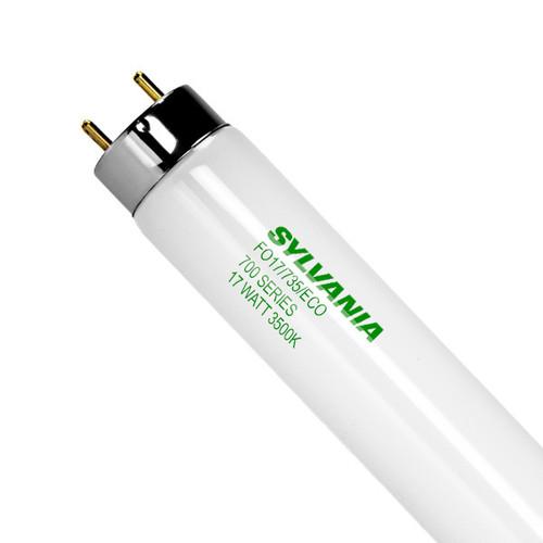 Sylvania FO17T8/835/ECO 17 Watt T8 Fluorescent Lamp, 22136