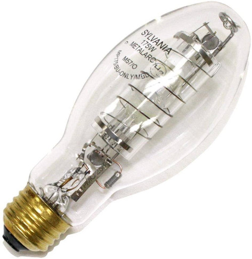 Sylvania 175 Watt Medium Base Open Rated Metal Halide Lamp