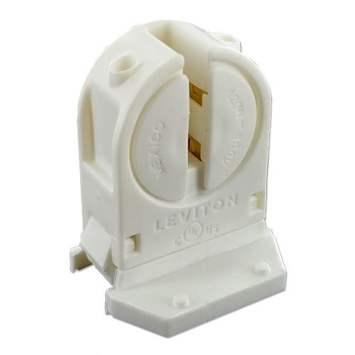 Leviton Unshunted Rotary Locking T5 Fluorescent Lampholder