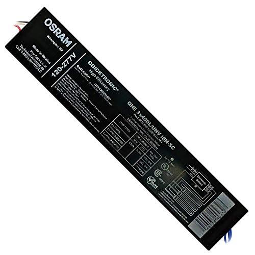 Sylvania 49430 QHE 3x40DL/UNV ISN-SC Fluorescent Ballast 120/277