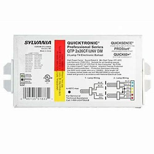 Osram Sylvania 26 Watt CFL Ballast 120/277 Volts