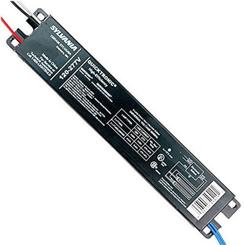 Sylvania 49857 4 Lamp F32T8 120/277 Volt Instant Start 0.88 Ballast Factor