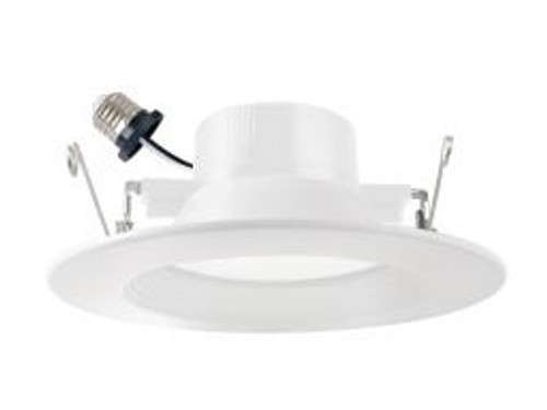 Morris Products LED Recessed Lighting Retrofit Kits - for Recessed Downlighting Alternative to Incandescent Lights - Energy Efficient Dimmable - Smooth Bezel 3000K 12 Watts 5 6