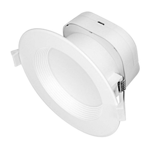 Satco 39028 - 9 watt LED Direct Wire Downlight 5-6 inch 4000K 120 volt Dimmable LED Recessed Can Retrofit Kit with 5 6 Inch Recessed Housing