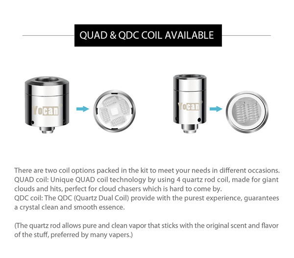 Yocan Loaded Replacement Coils