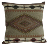 Premium Rustic Throw Pillow COVER ONLY - Apache