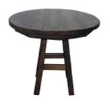 "Barnwood 36"" Round Table"