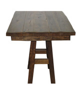 "Barnwood 36"" Square Table"