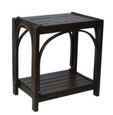 Amish Bentwood End Table - Solid Barnwood Multiple Colors