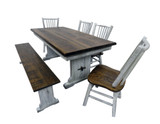 6 Piece Set with Bench
