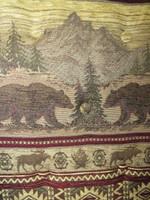 Amish Bentwood Rocker Cushion Set - Bear Mountain Fabric