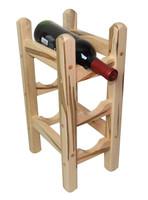 Wormy Maple Counter Wine Rack