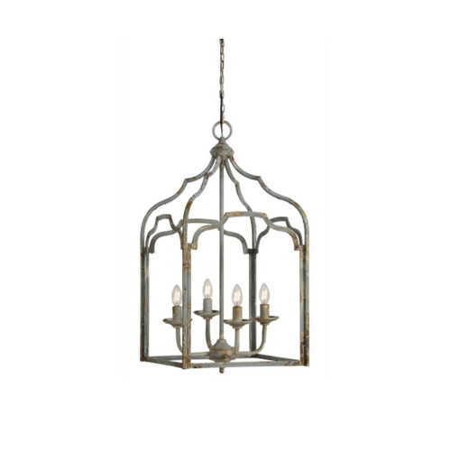 Metal Open Design Chandelier