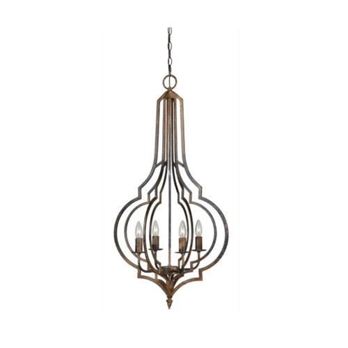 3 Light - Wrought Iron Chandelier