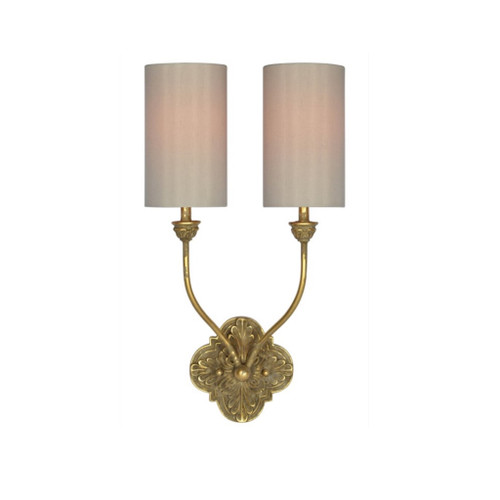 2 Light -  Golden Sconce