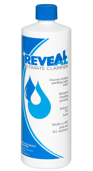Eliminate dull cloudy water without affecting balance levels or clogging the filter.