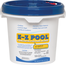 How to keep a swimming pool clean using e-z pool