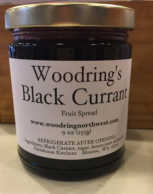 Black Currant Preserves, 9 oz