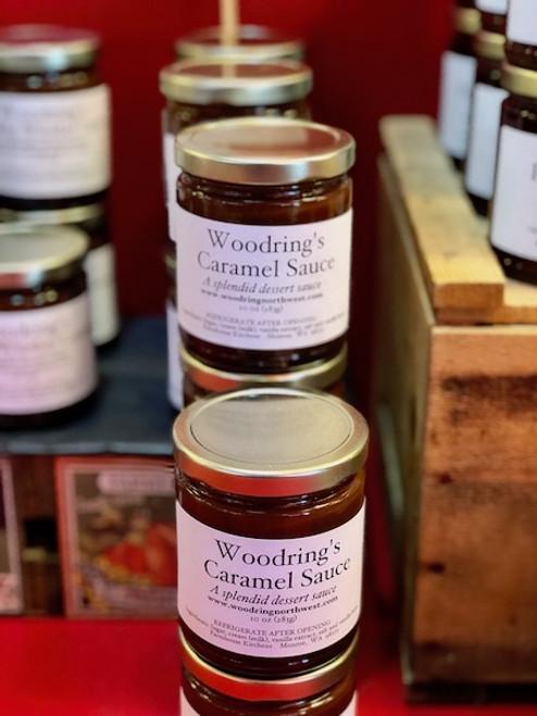 Vanilla Caramel Sauce, 9oz