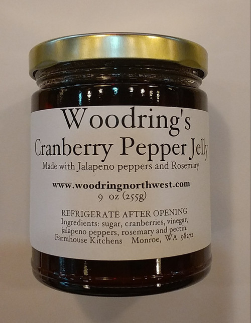 Cranberry Pepper Jelly, 9 oz