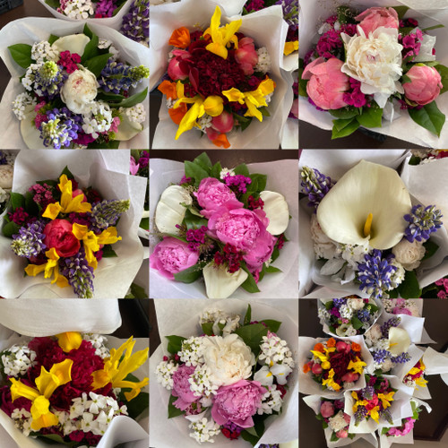 Flower Bouquet (Pick Up At Market Only)