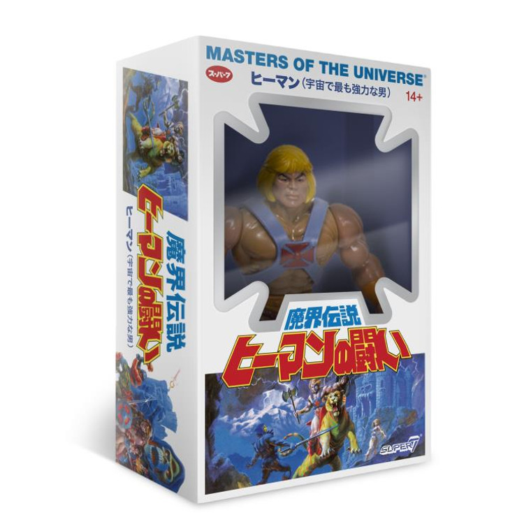 Super7 Masters of the Universe He-Man (Japanese Box) now available at Jay's Toys and Games!