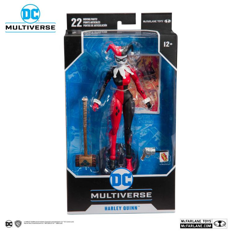 McFarlane Toys DC Multiverse Harley Quinn (Classic) Action Figure - Now Available at Jay's Toys and Games | Jay's CD & Hobby!