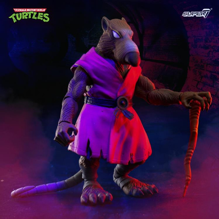 Now Available:  Super7 TMNT Ultimates Splinter at Jay's Toys and Games!   All orders over $75 ship Free!