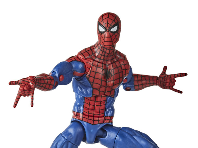 Spider-Man Marvel Legends Retro Collection Spider-Man - Jay's Toys and Games | FREE Shipping on ALL orders over $75!