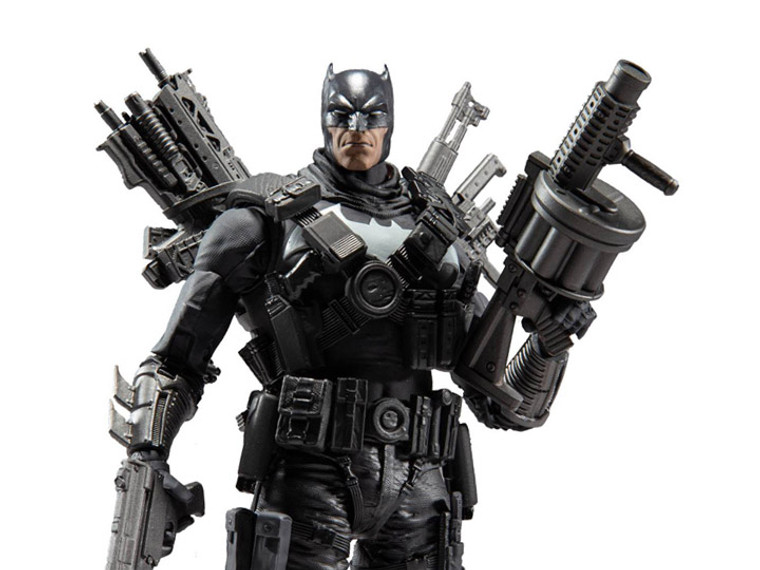 The Batman Who Laughs DC Multiverse The Grim Knight Batman Action Figure Jays Toys and Games