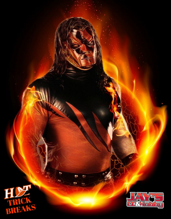 Presented by Hat Trick Breaks and Jays CD & Hobby:  Get ready Iowa, here's your chance to meet WWE Superstar, and three-time World Champion, Kane.