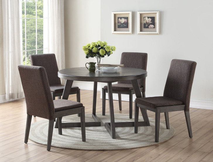 Cleo Round Dining Table Set - 5 Piece