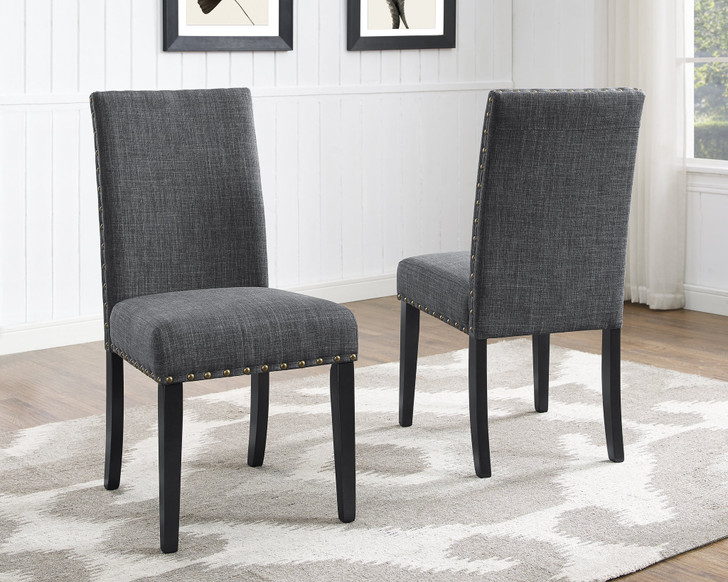 Glamour Dining Chair - Grey