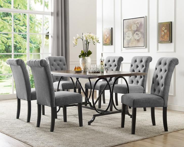 7 Pcs Dining Table Set