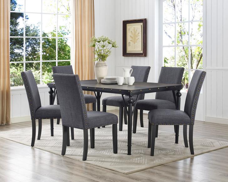 Arianna Dining Table Series - Rectangular (Grey)