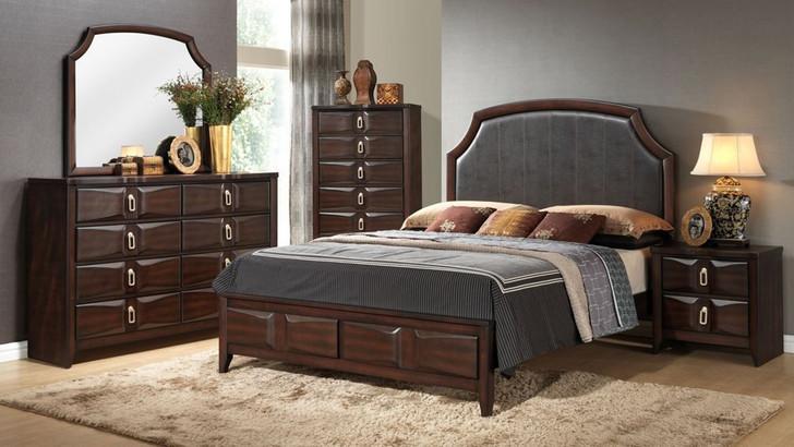 Halifax Wooden 5 Pcs. Bedroom Suite - King or Queen