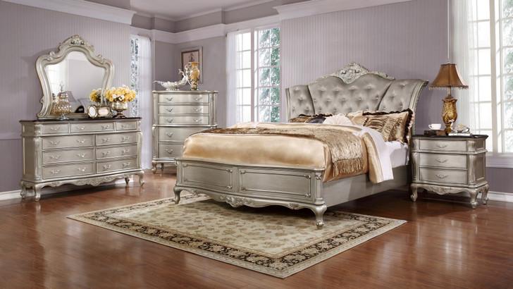 B888 6 Pcs. Bedroom Suite - Queen or King Size