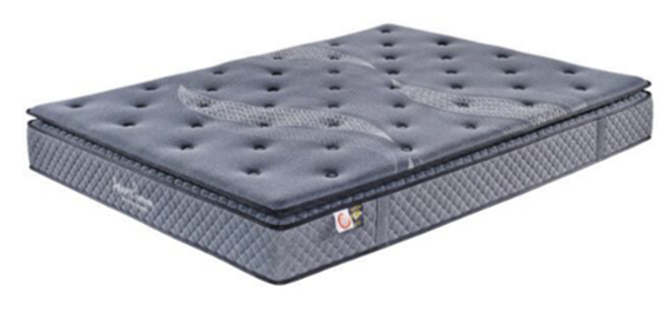 """Amore 9""""Pillow Top Pocket Coil Mattress -  Queen and King Size"""