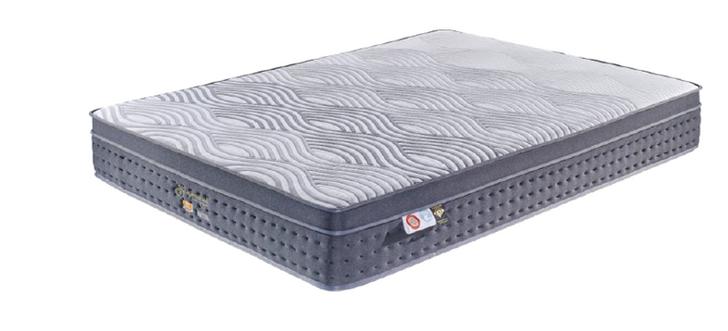 "SuperNatural 10"" Euro Top Memory Foam Pocket Mattress -  Queen and King Size"