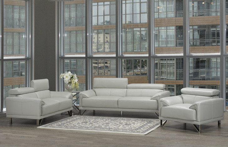 Montreal 3 Pieces Sofa Set - Sofa, Loveseat and Chair