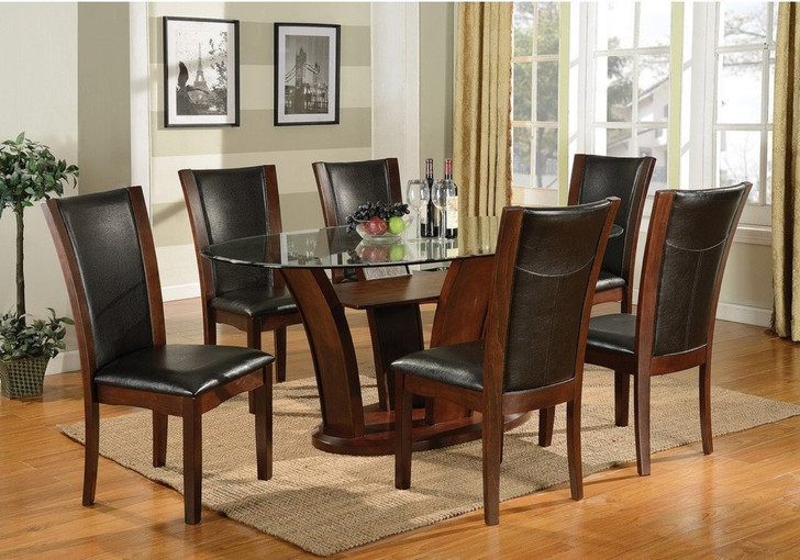 Camella Oval Glass Dining Set