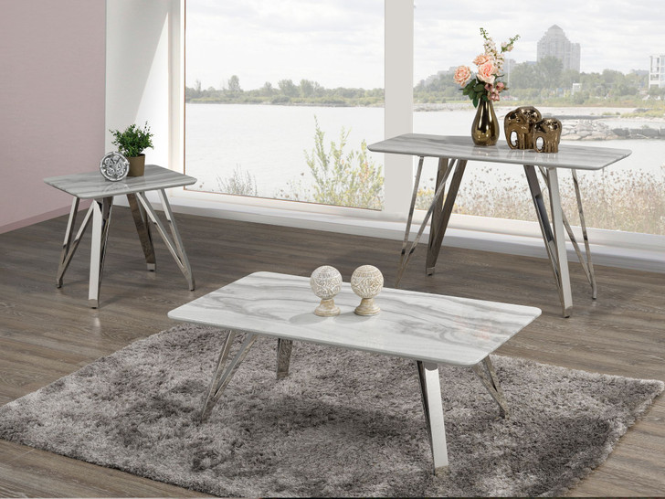 Palencia Marble Touch Coffee Table Series