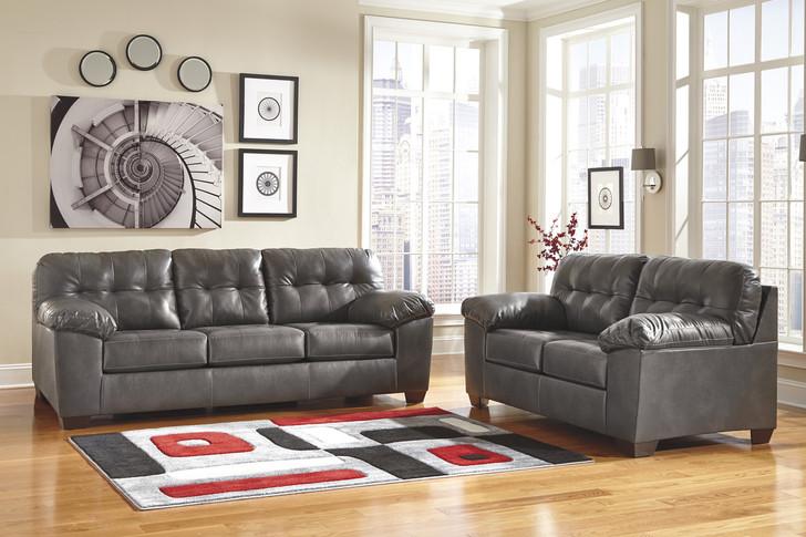 Lattitude - Gray Sofa and Loveseat