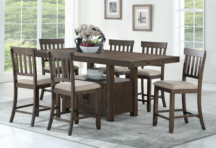 Ilsa Counter Table Set - 7 Pieces