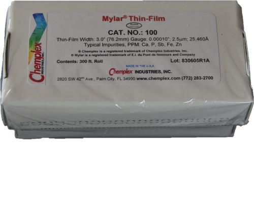 Mylar roll 2.5 µM