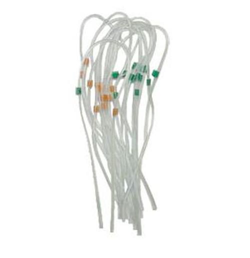 Tube Tygon (PVC) Orange / Green (12 pcs)