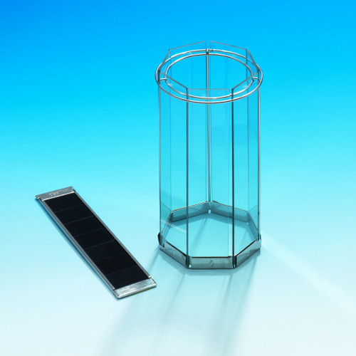 UV black glass for IR absorption filter system for Xenotest 150/Alpha series